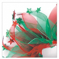 Christmas Party Collar - Red & Green Stars