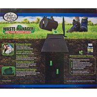 Four Paws Waste Manager - Dog Poo Disposal Unit