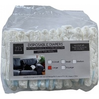 Zeez Disposable Diapers in Large
