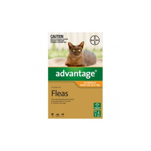 Advantage Cat [ Size:0-4kg - 4 Pack ]