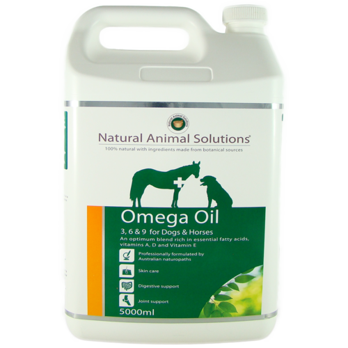 Natural Animal Solutions Omega 3, 6 & 9 [ Size:5Lt ]